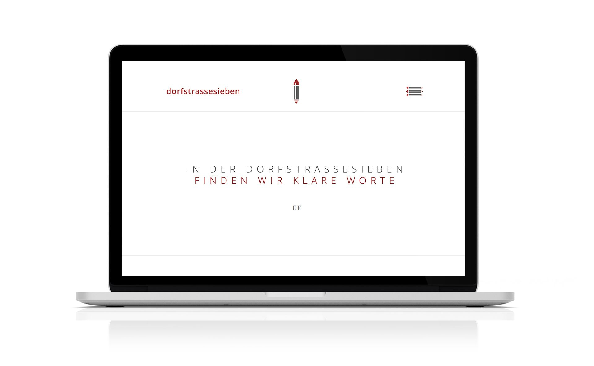 Corporate Design dorfstrassesieben